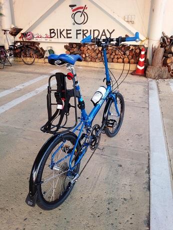 納車 Bike Friday_d0147944_16272060.jpg