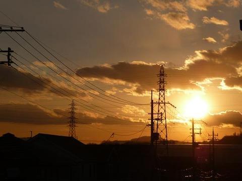 夕陽_f0349957_20271715.jpg