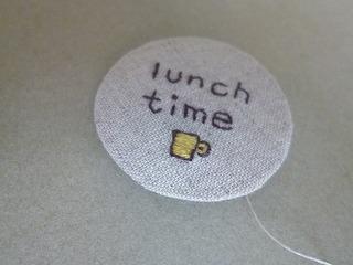 embroidery tag 1本取りの糸で♪_a0165160_05145191.jpg