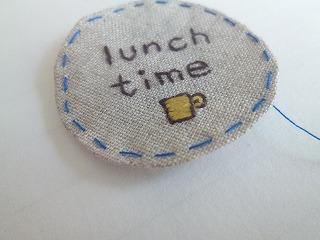 embroidery tag 1本取りの糸で♪_a0165160_05150344.jpg
