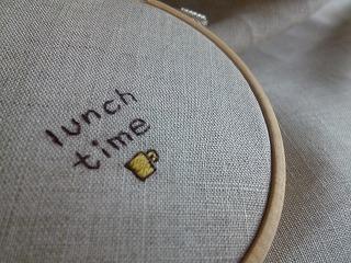 embroidery tag 1本取りの糸で♪_a0165160_05152721.jpg