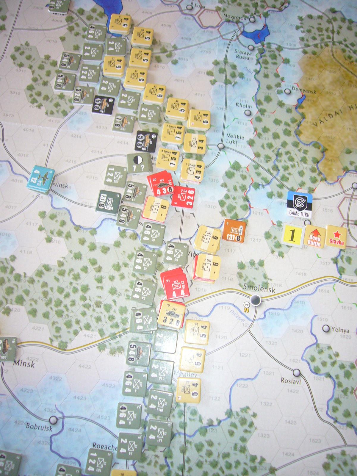 着いたぞ、呪わしのドイツ!The Dark Valley(GMT)1944開始キャンペーンその①_b0173672_2514086.jpg