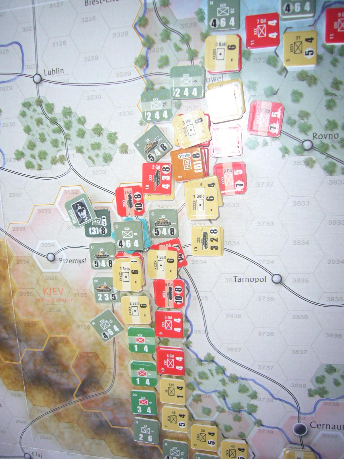 着いたぞ、呪わしのドイツ!The Dark Valley(GMT)1944開始キャンペーンその①_b0173672_2515956.jpg
