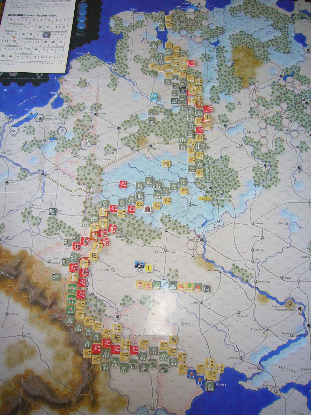 着いたぞ、呪わしのドイツ!The Dark Valley(GMT)1944開始キャンペーンその①_b0173672_2521648.jpg