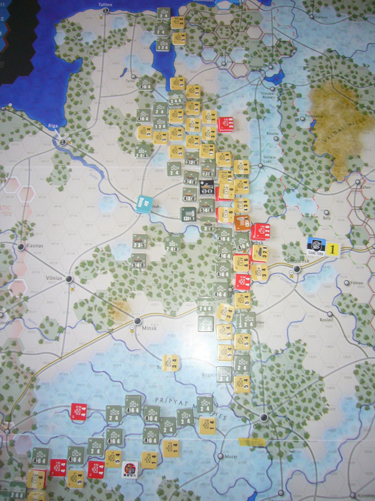 着いたぞ、呪わしのドイツ!The Dark Valley(GMT)1944開始キャンペーンその①_b0173672_2525548.jpg