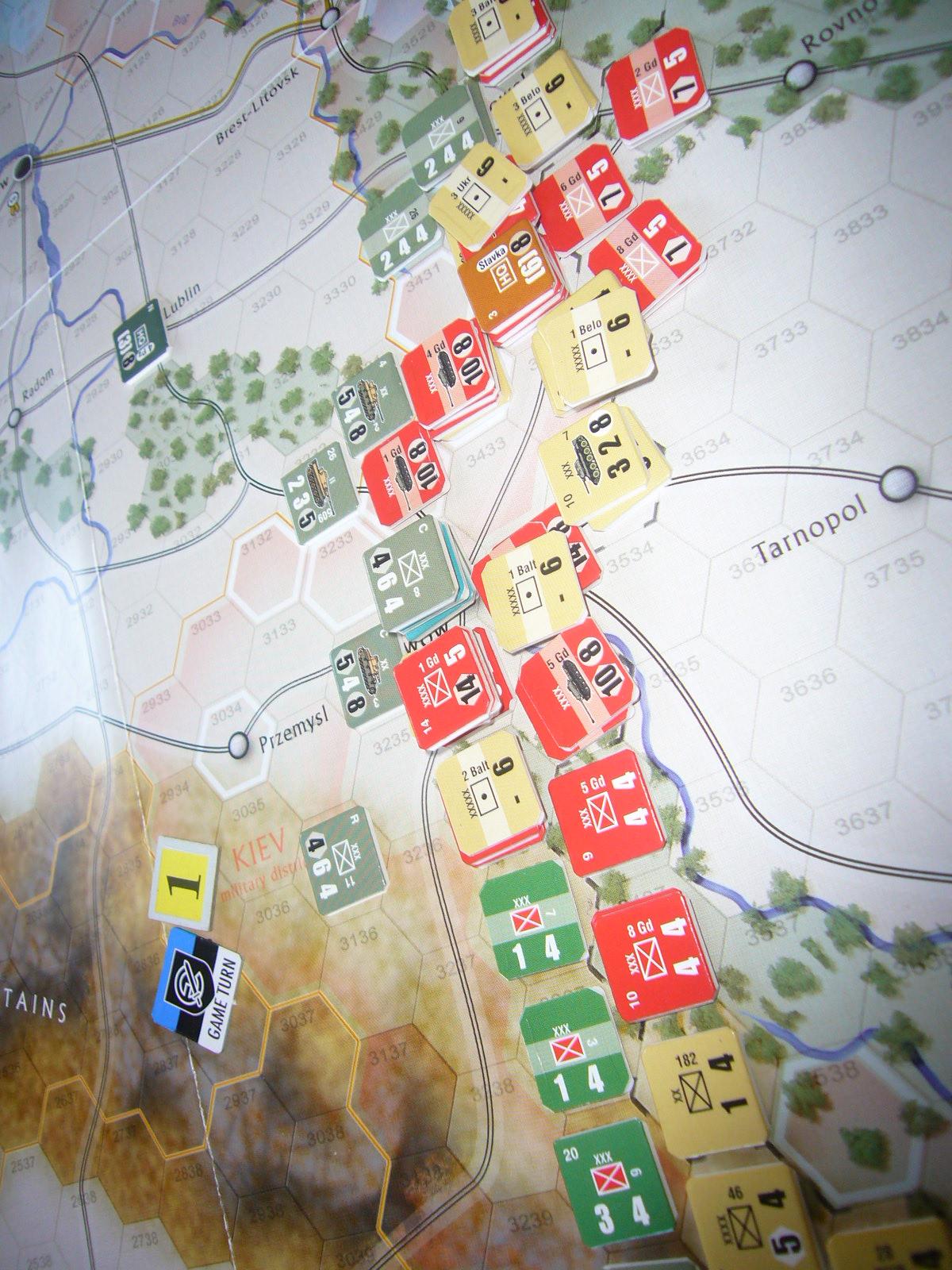着いたぞ、呪わしのドイツ!The Dark Valley(GMT)1944開始キャンペーンその①_b0173672_2531291.jpg