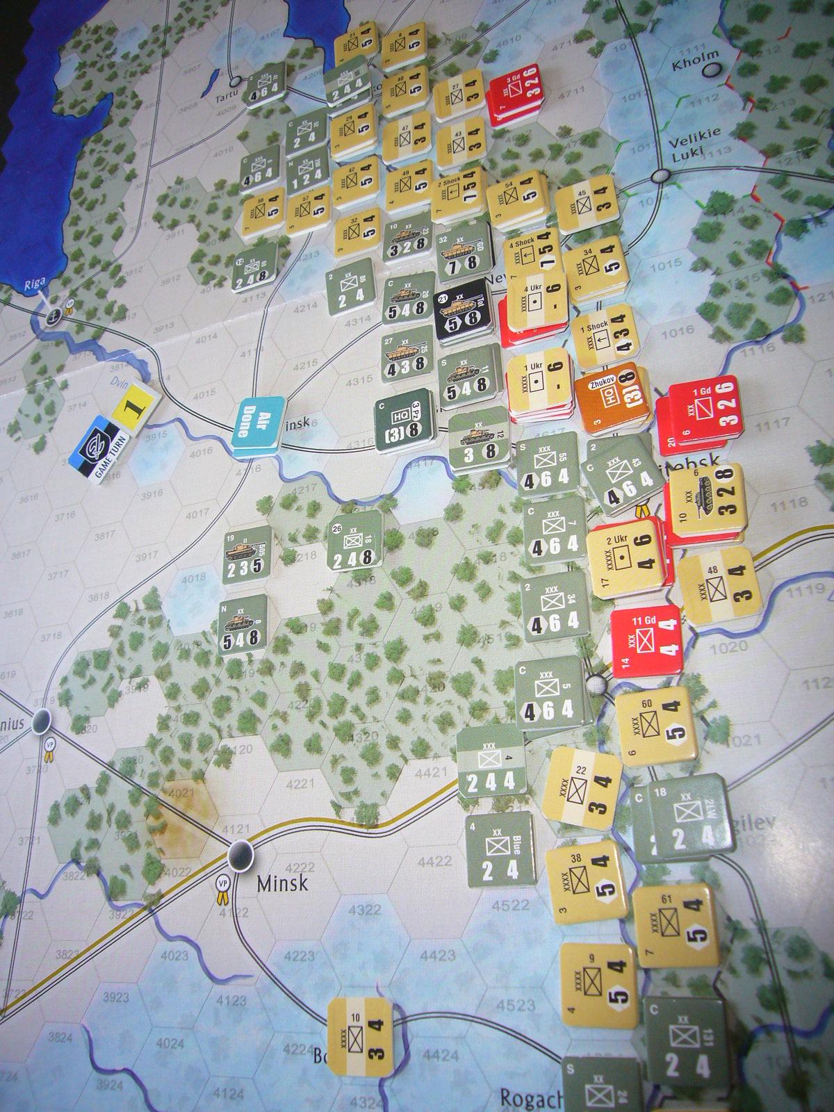 着いたぞ、呪わしのドイツ!The Dark Valley(GMT)1944開始キャンペーンその①_b0173672_2532617.jpg