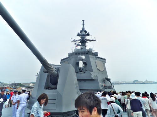 5インチ砲(大砲はこれ1本の ...