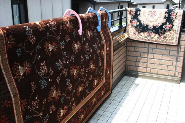 主人は絨毯洗い、_f0229190_21581149.jpg