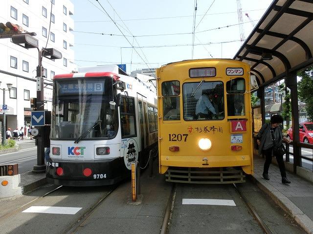 市民や観光客の足として市電がかっこよく走る街 熊本市と鹿児島市_f0141310_7511886.jpg