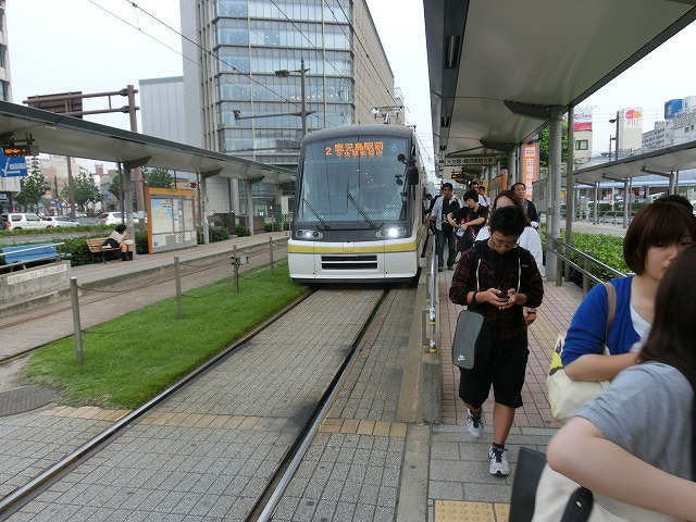 市民や観光客の足として市電がかっこよく走る街 熊本市と鹿児島市_f0141310_753318.jpg