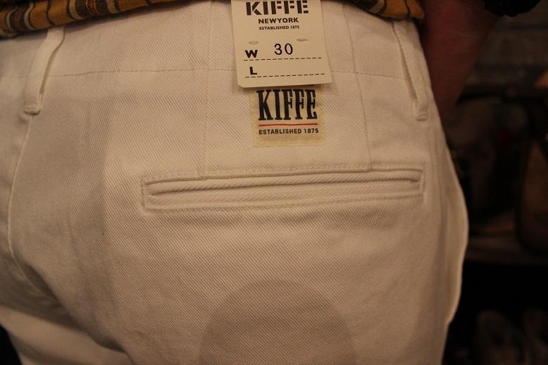 "「KIFFE (キッフェ)」 \""ANKLE PANTS\"" ご紹介_f0191324_918416.jpg"