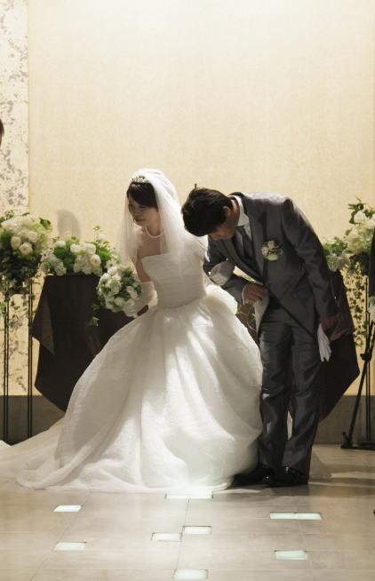 新郎新婦様からのメール 6月の花嫁はうさぎさん1_a0042928_1232384.jpg