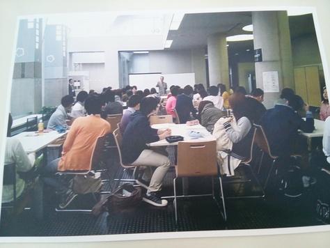 2014.05.28 武蔵野大学ラーニングスクエアを見る_f0138645_9523494.jpg