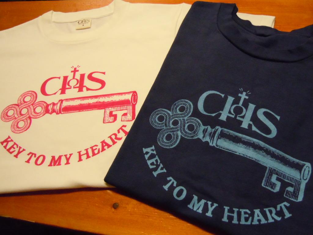 "CHOLOS  \""KEY OF MY HEART TEE\""_b0278148_15135735.jpg"