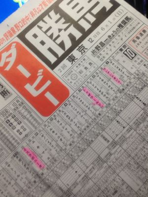 東京優駿ダービー・・・6/1_f0138960_042535.jpg