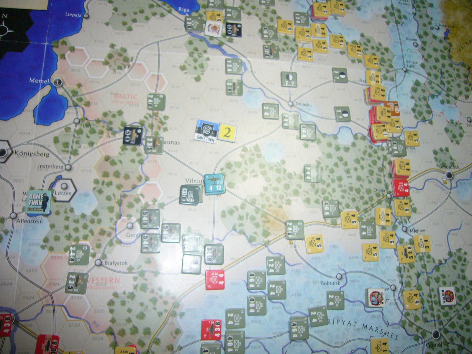 かの軍隊は敗れたり The Dark Valley(GMT)1944開始キャンペーンその②_b0173672_2210871.jpg