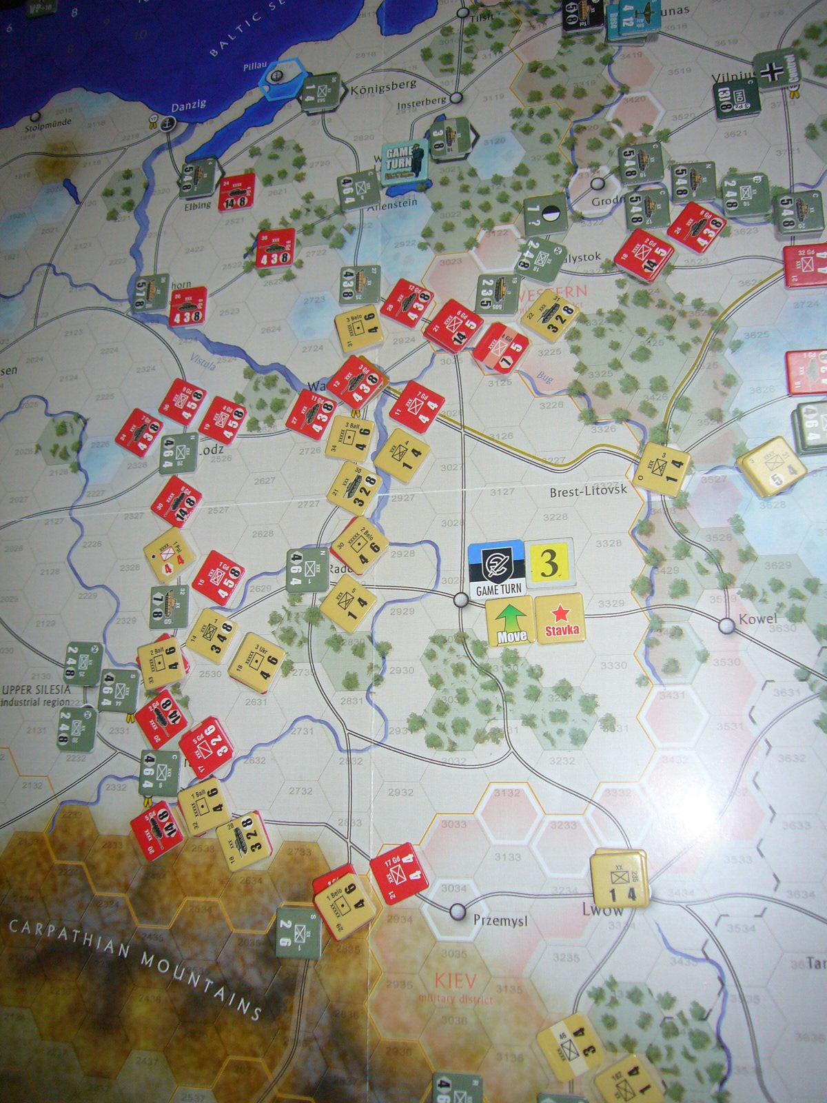 蛮族なんぞ許すべき The Dark Valley(GMT)1944開始キャンペーンその③_b0173672_22254022.jpg