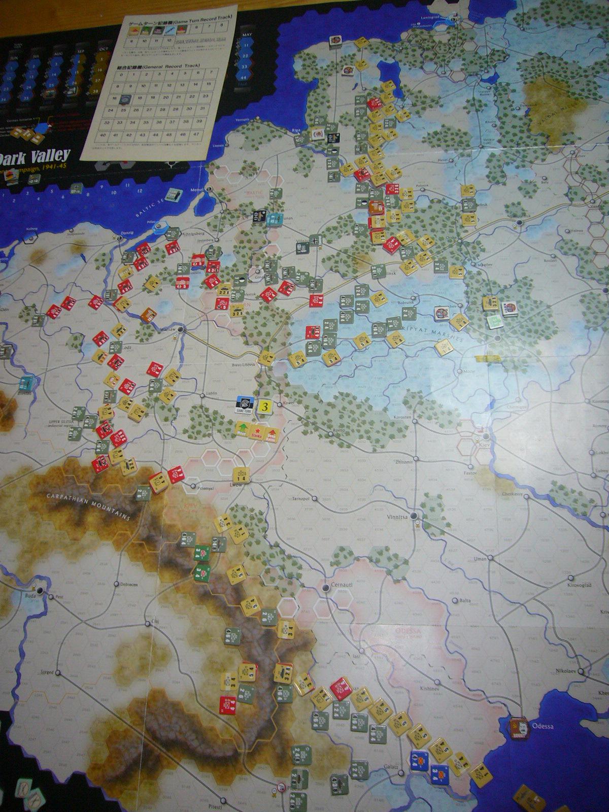 蛮族なんぞ許すべき The Dark Valley(GMT)1944開始キャンペーンその③_b0173672_22261229.jpg
