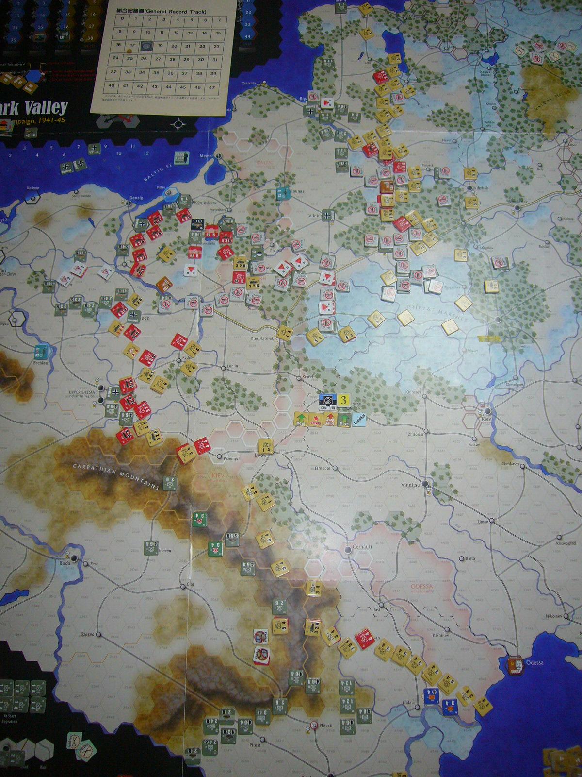 蛮族なんぞ許すべき The Dark Valley(GMT)1944開始キャンペーンその③_b0173672_22264533.jpg