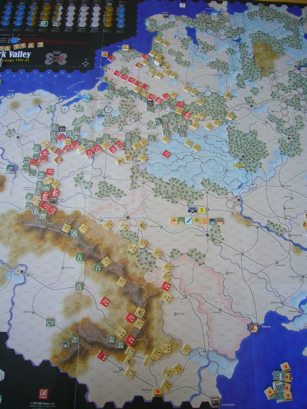 戦わんかな、時いたる The Dark Valley(GMT)1944開始キャンペーンその⑤_b0173672_22413638.jpg