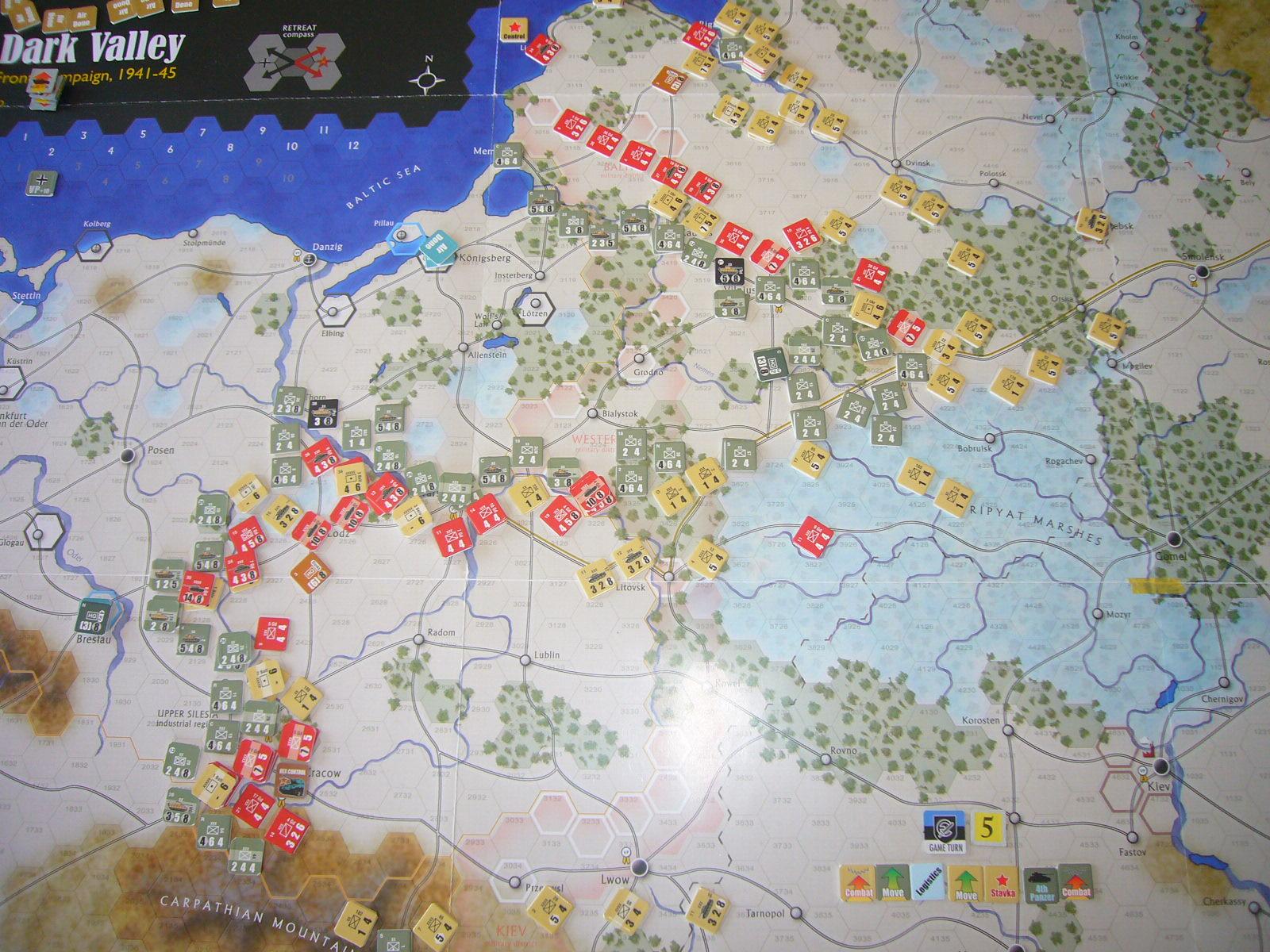 戦わんかな、時いたる The Dark Valley(GMT)1944開始キャンペーンその⑤_b0173672_22421075.jpg