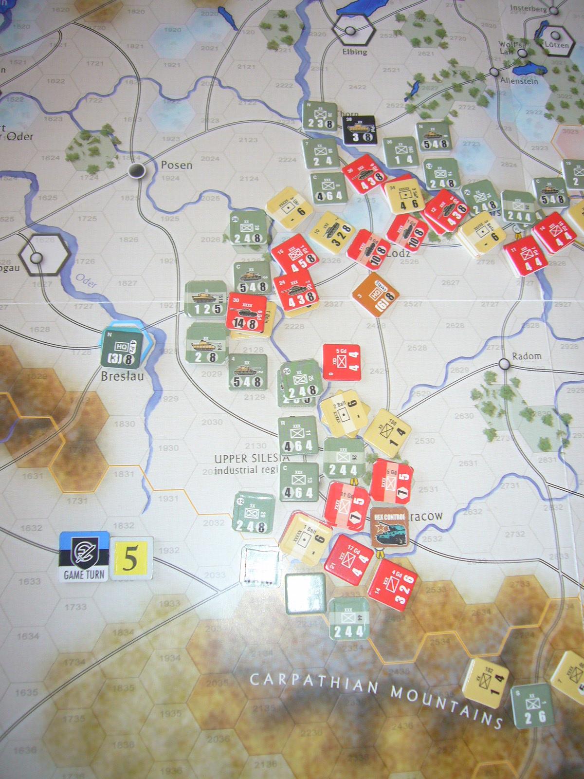 戦わんかな、時いたる The Dark Valley(GMT)1944開始キャンペーンその⑤_b0173672_22422624.jpg