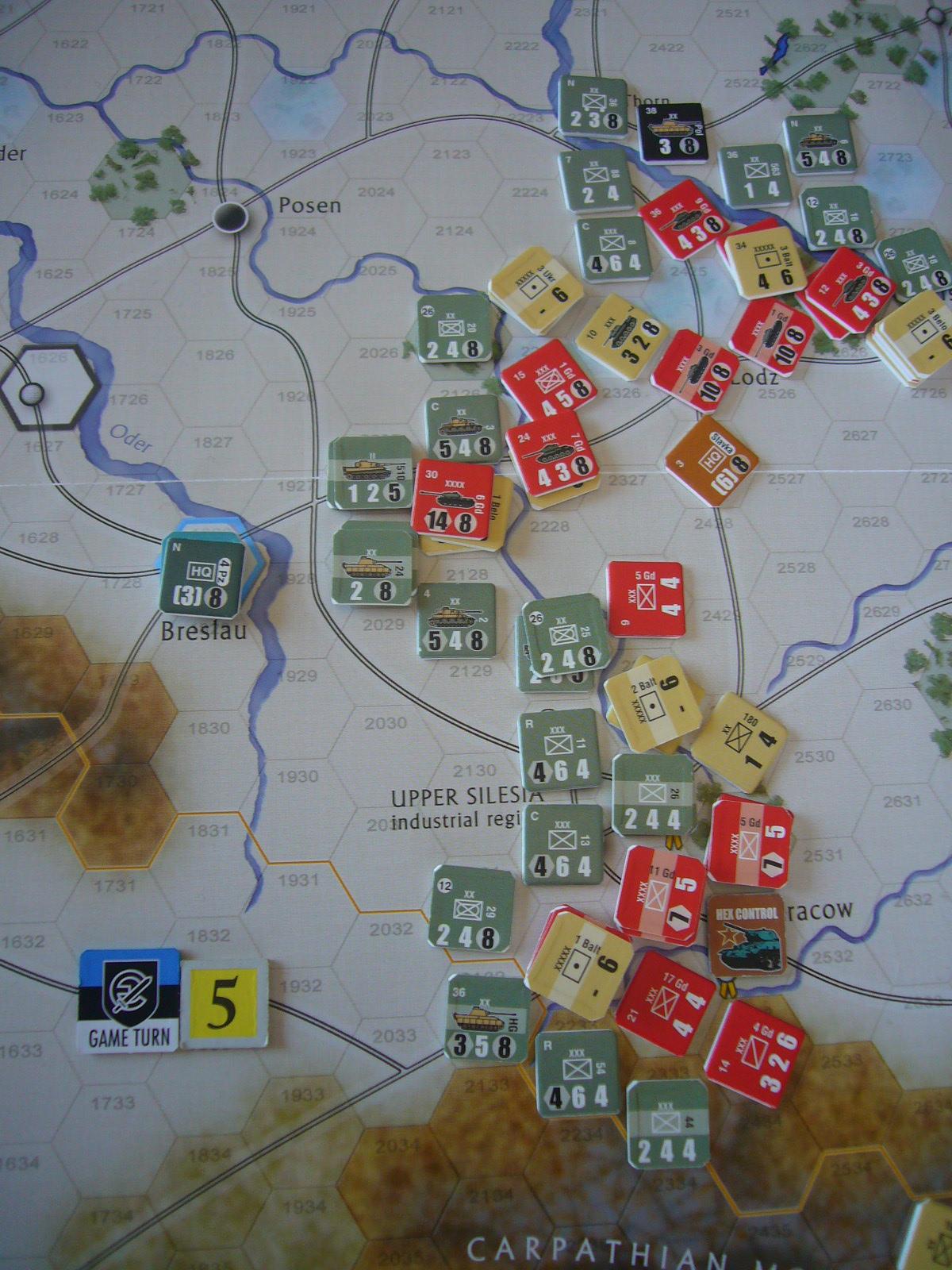 戦わんかな、時いたる The Dark Valley(GMT)1944開始キャンペーンその⑤_b0173672_22424260.jpg