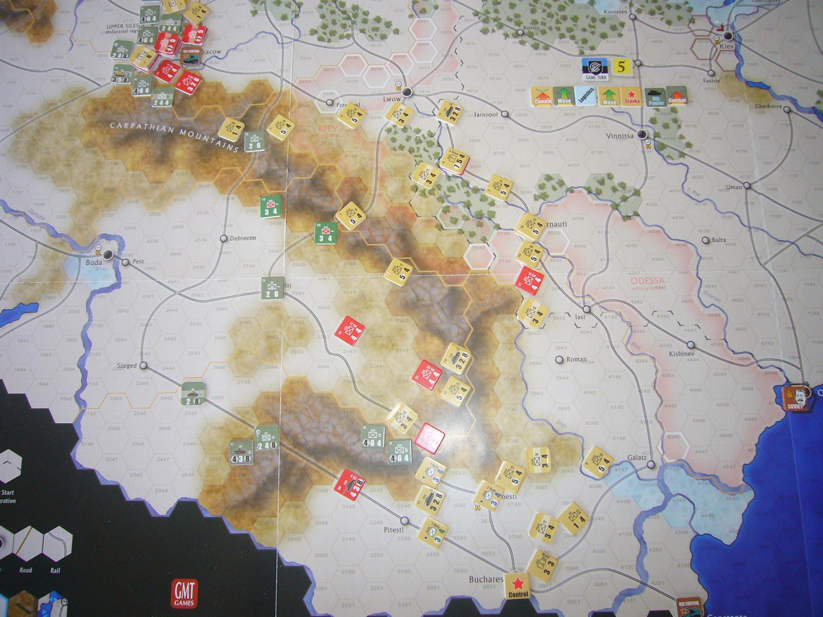 戦わんかな、時いたる The Dark Valley(GMT)1944開始キャンペーンその⑤_b0173672_22432533.jpg