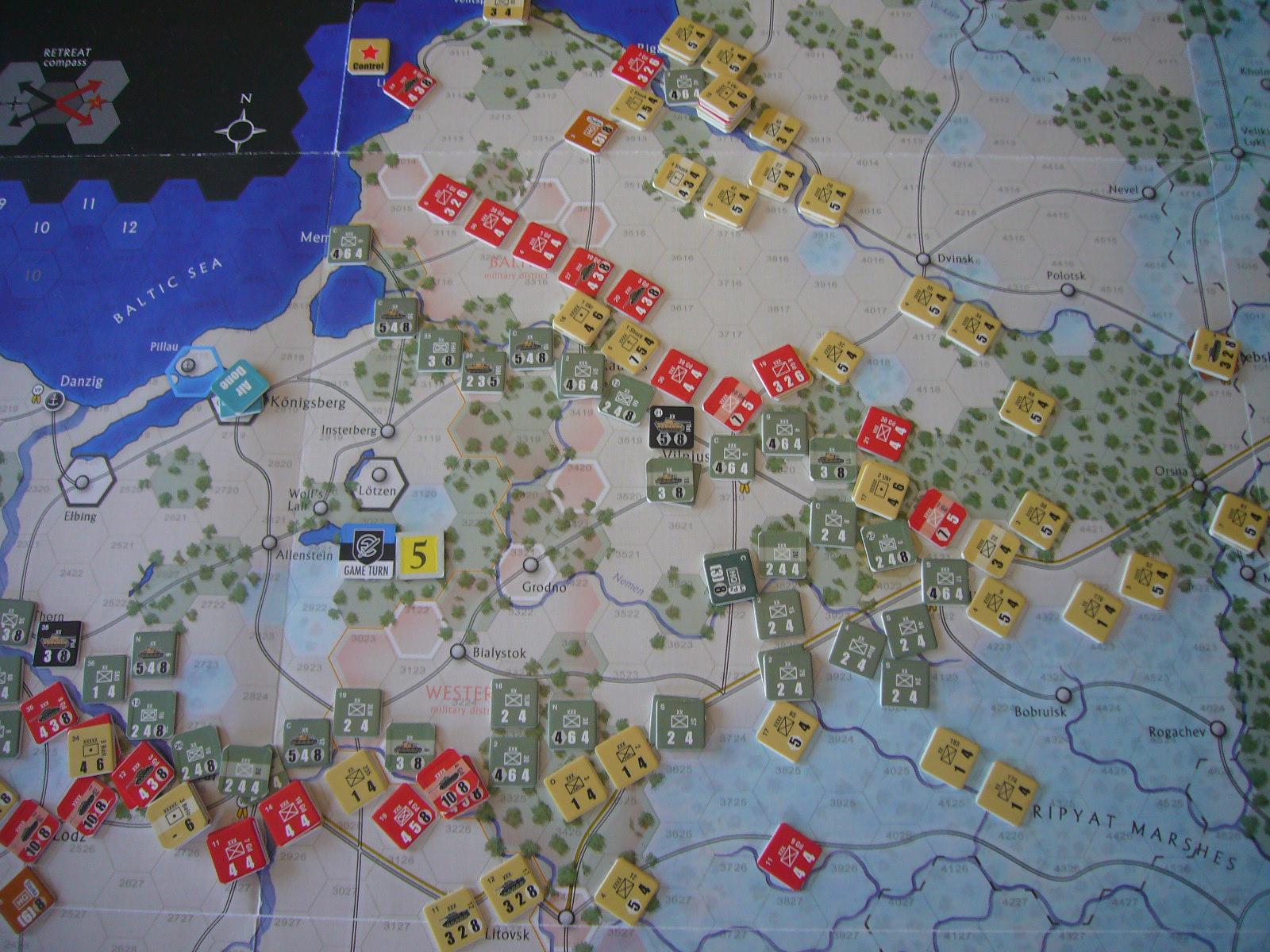戦わんかな、時いたる The Dark Valley(GMT)1944開始キャンペーンその⑤_b0173672_2243281.jpg