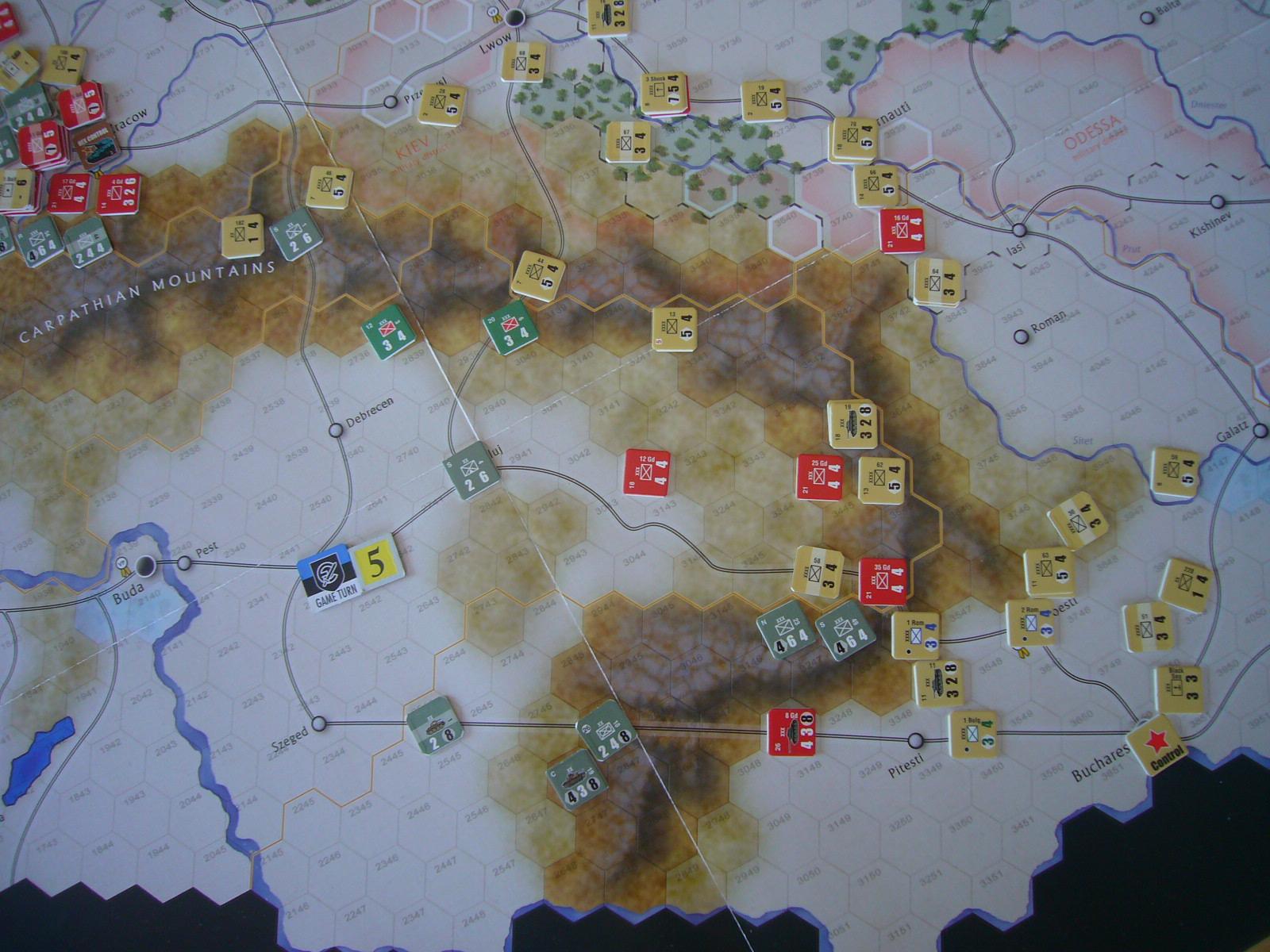 戦わんかな、時いたる The Dark Valley(GMT)1944開始キャンペーンその⑤_b0173672_22434589.jpg