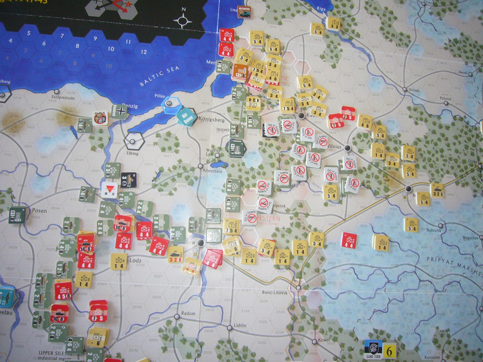 敵地に一歩我れ踏めば The Dark Valley(GMT)1944開始キャンペーンその⑥_b0173672_22484255.jpg