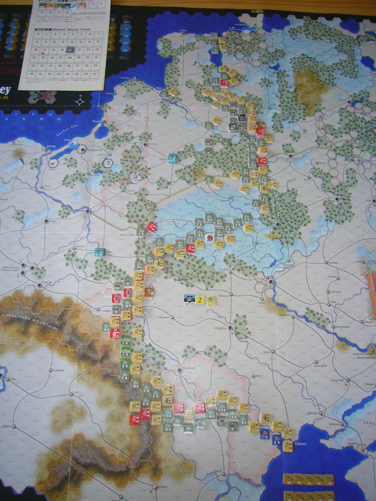 かの軍隊は敗れたり The Dark Valley(GMT)1944開始キャンペーンその②_b0173672_2262373.jpg