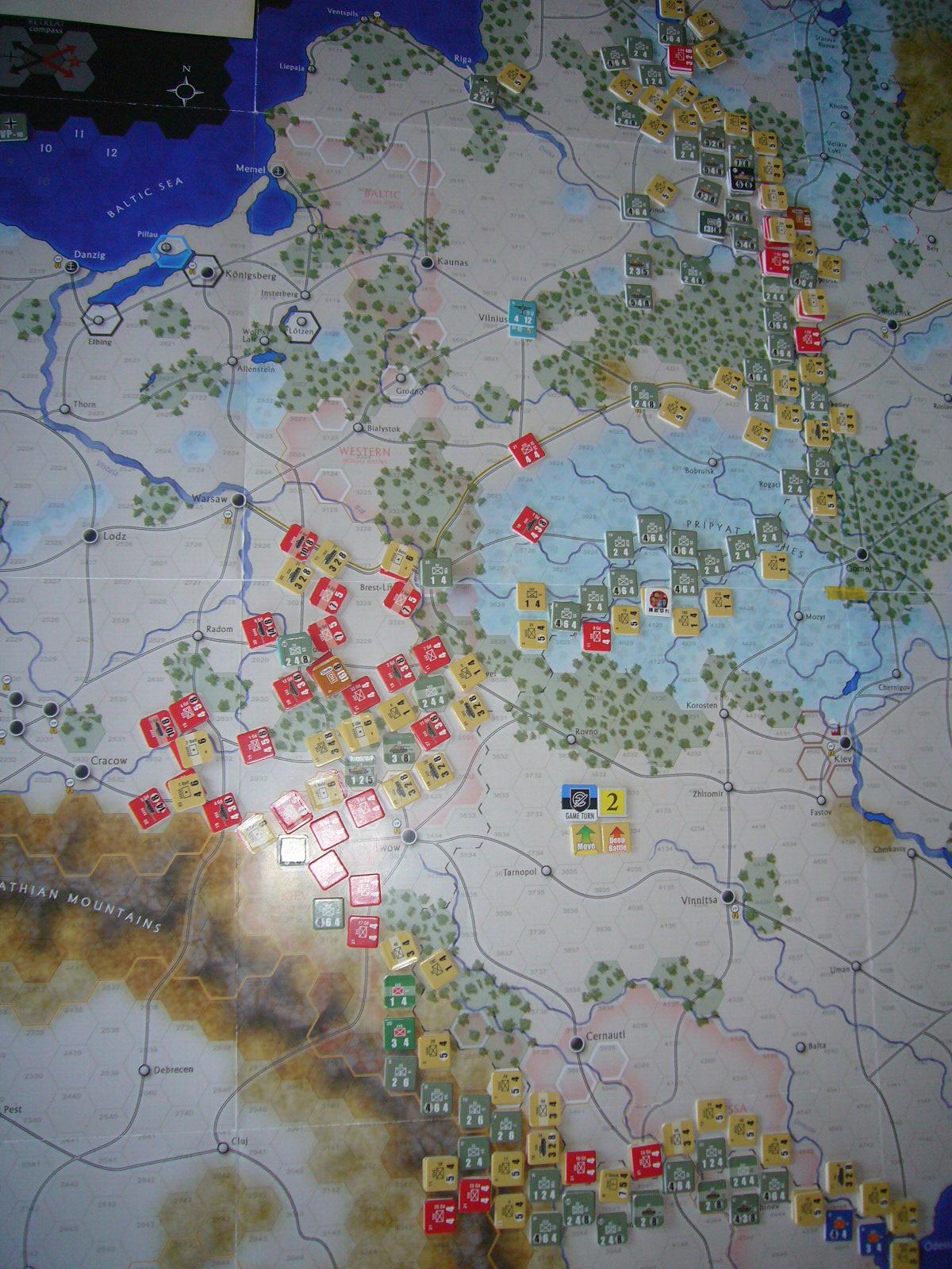 かの軍隊は敗れたり The Dark Valley(GMT)1944開始キャンペーンその②_b0173672_2264899.jpg