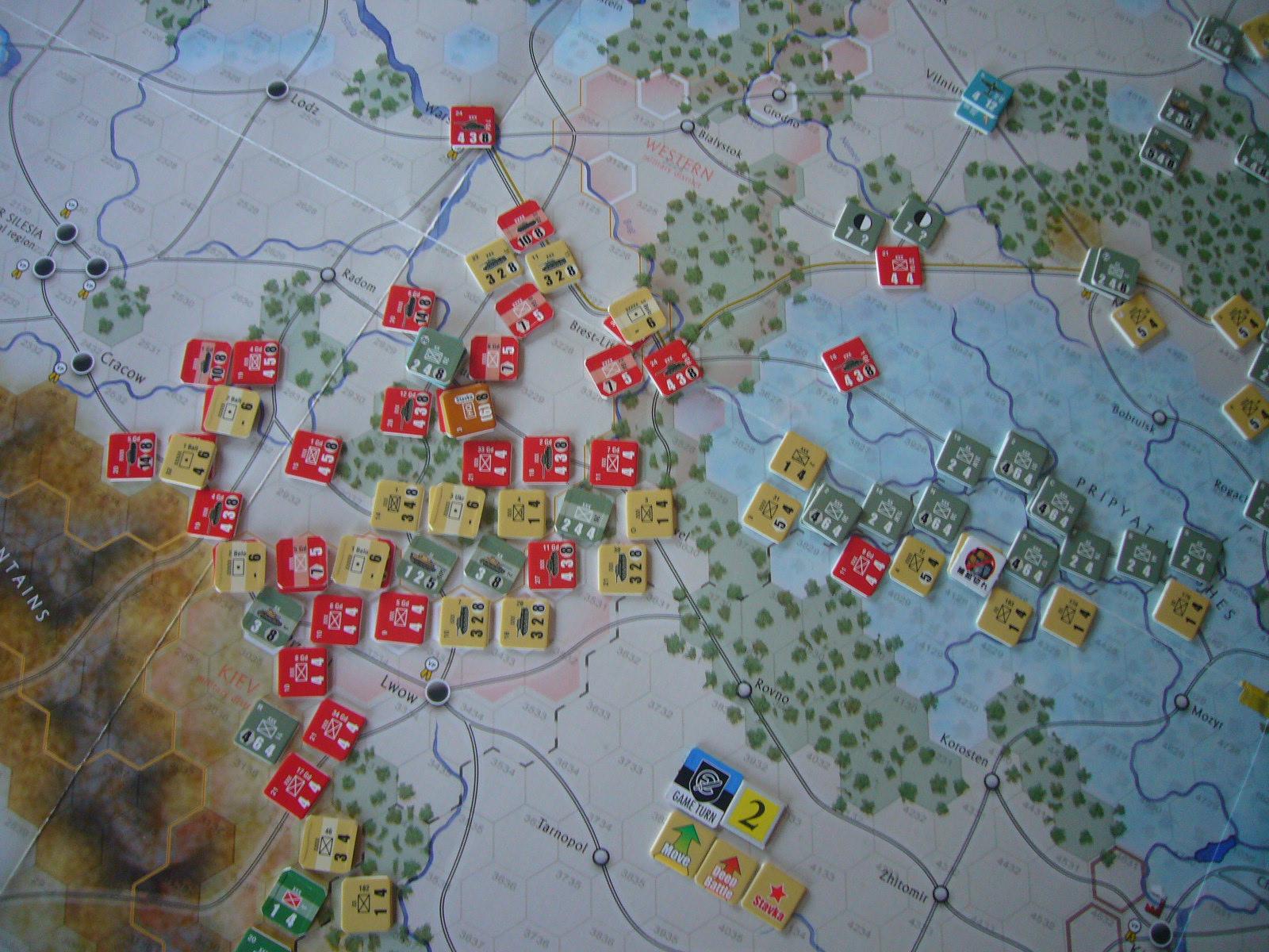かの軍隊は敗れたり The Dark Valley(GMT)1944開始キャンペーンその②_b0173672_2272585.jpg