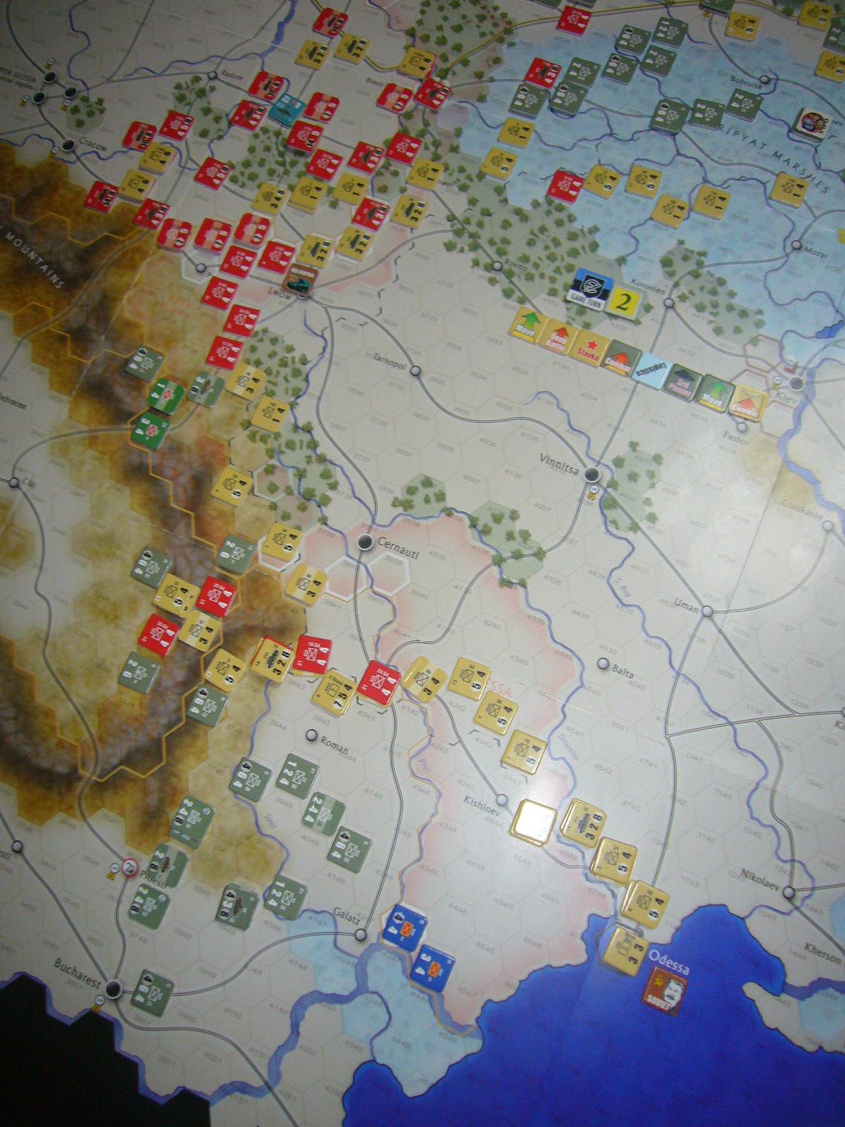 かの軍隊は敗れたり The Dark Valley(GMT)1944開始キャンペーンその②_b0173672_228021.jpg