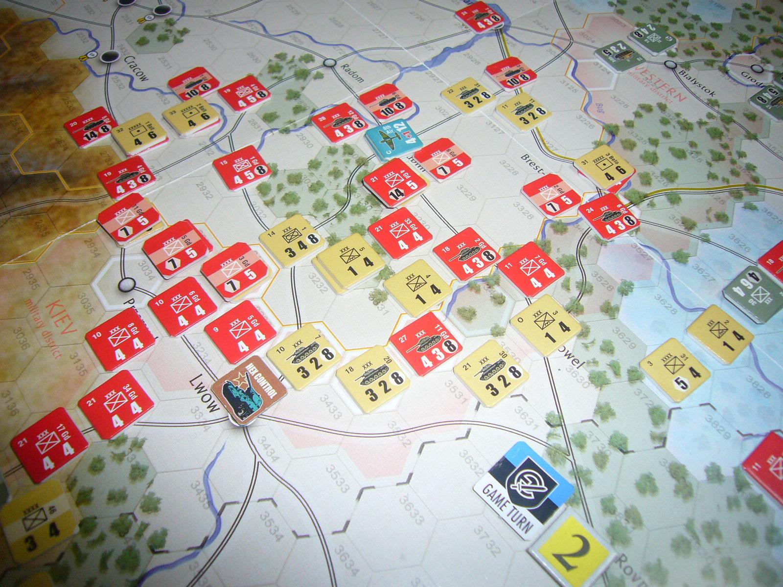 かの軍隊は敗れたり The Dark Valley(GMT)1944開始キャンペーンその②_b0173672_2283916.jpg