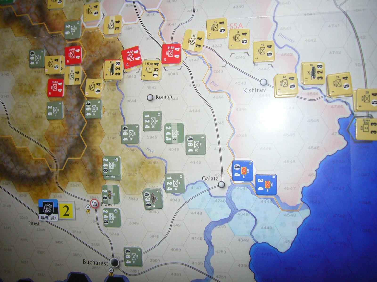 かの軍隊は敗れたり The Dark Valley(GMT)1944開始キャンペーンその②_b0173672_2285671.jpg
