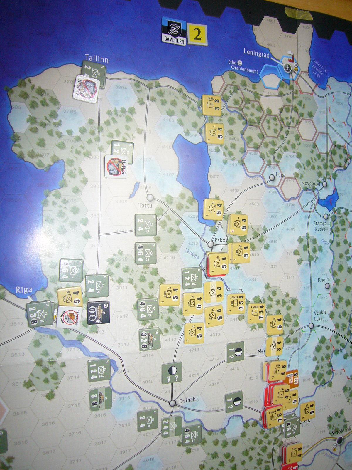 かの軍隊は敗れたり The Dark Valley(GMT)1944開始キャンペーンその②_b0173672_2292012.jpg