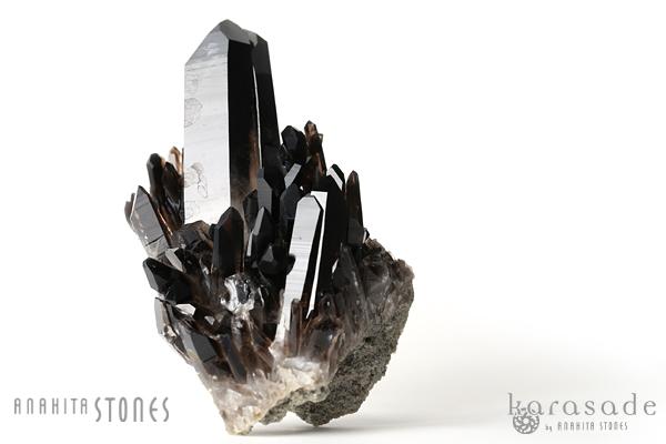 黒水晶原石(アメリカ・アーカンソー州産)_d0303974_11544314.jpg