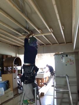 工事、始まっています。  ー エバーグリーン淀川 3DKタイプ リノベーション -_d0162179_13430974.jpg