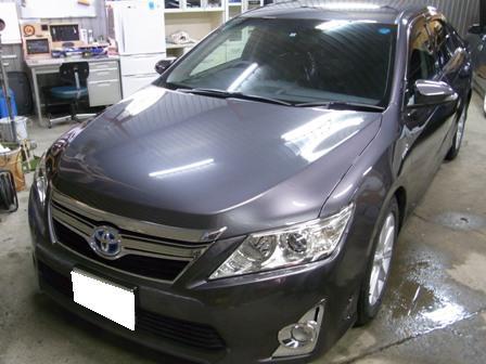 トヨタ新型カムリへオーディオインストール。_a0055981_1455511.jpg