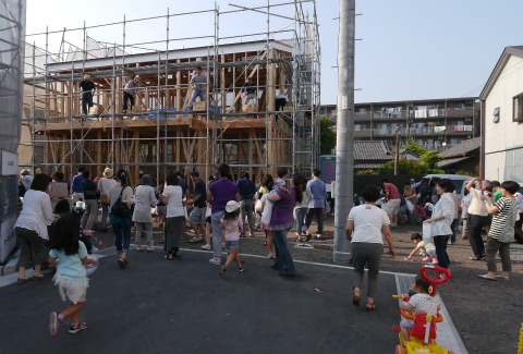 投げ餅!~富士市横割S邸_c0160488_17847.jpg