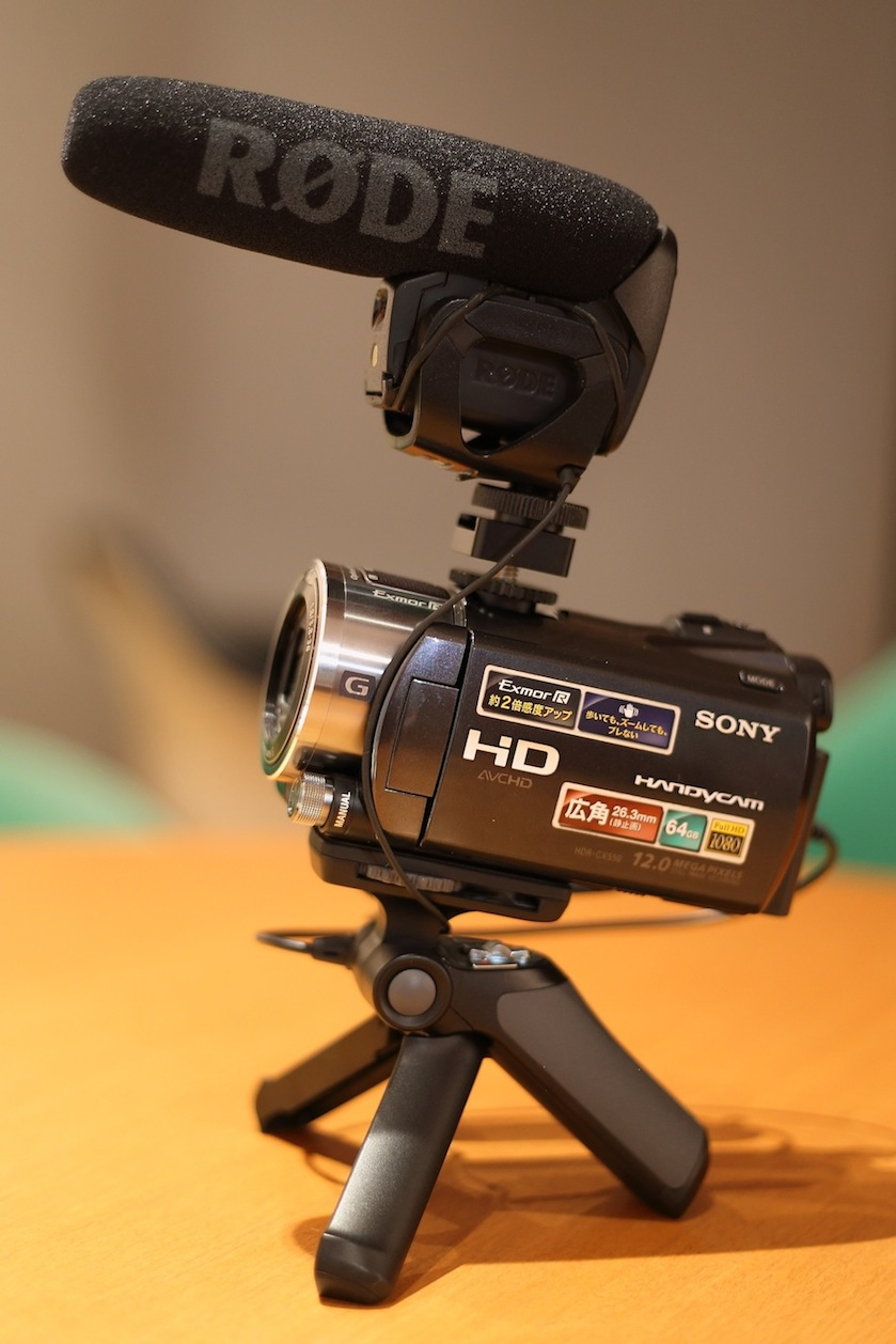 ソニー ハンディカム 変換 シュー SONY Handycam_d0081605_4441550.jpg