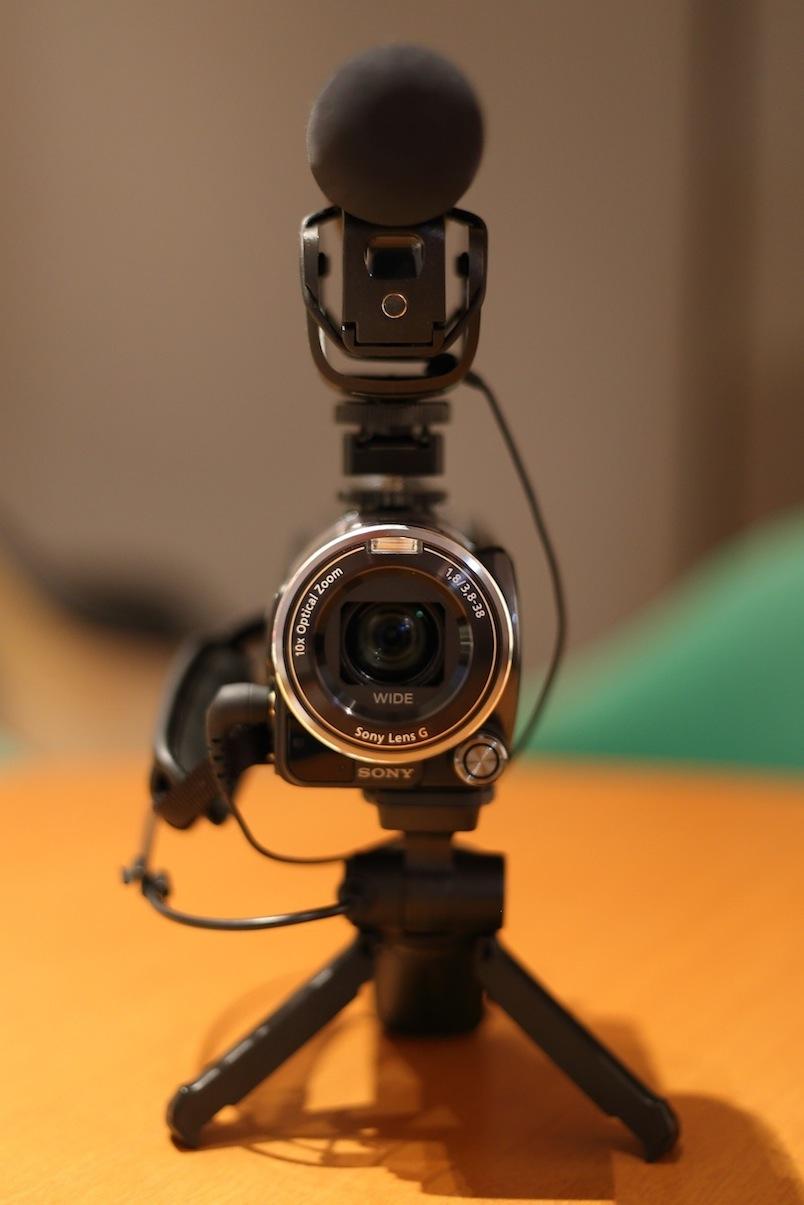 ソニー ハンディカム 変換 シュー SONY Handycam_d0081605_4442160.jpg