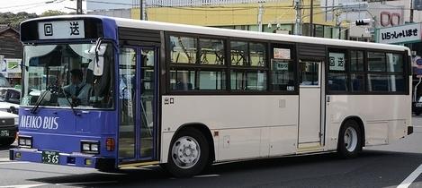 明光バス 日野KC-HU2MPCA +日野車体_e0030537_21364437.jpg