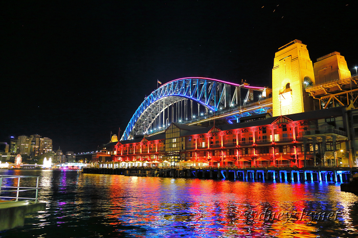 VIVIDSYDNEY 2014 ~3~ Harbour Bridge_f0084337_17411827.jpg