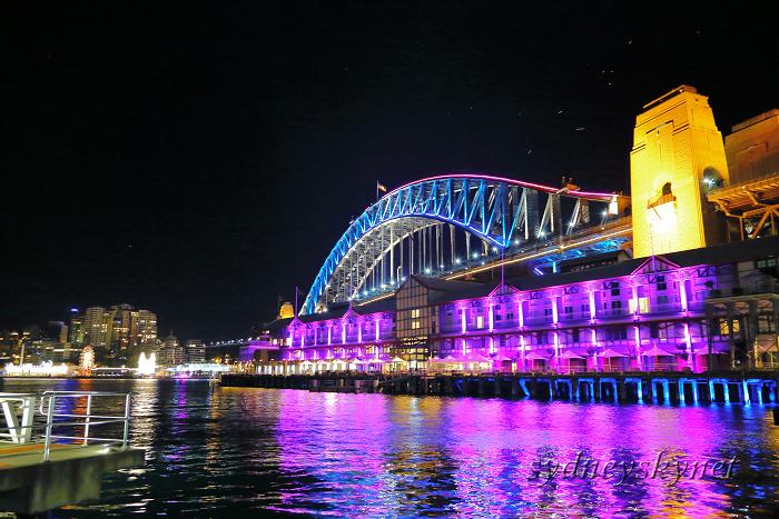 VIVIDSYDNEY 2014 ~3~ Harbour Bridge_f0084337_17424355.jpg