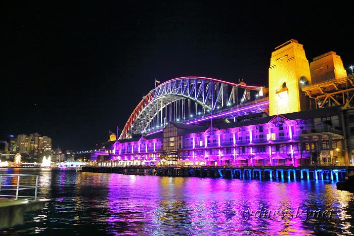 VIVIDSYDNEY 2014 ~3~ Harbour Bridge_f0084337_17425488.jpg