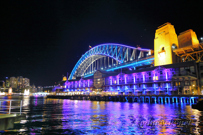 VIVIDSYDNEY 2014 ~3~ Harbour Bridge_f0084337_17432917.jpg